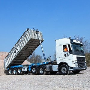 UK's biggest road job approves new generation articulated tippers